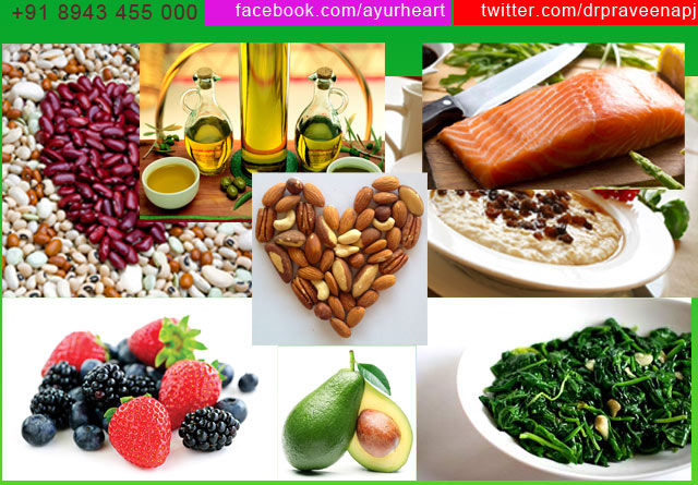 Top Ten foods  good for your heart