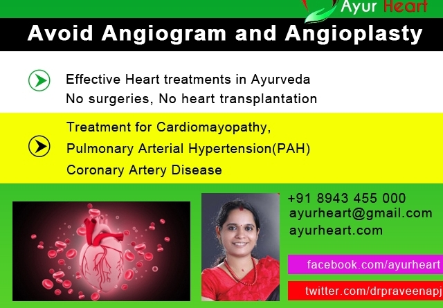 Heart treatment with out angioplasty